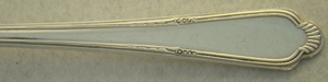 silver and silver plate: Antique Egyptian Pattern, E.H.H