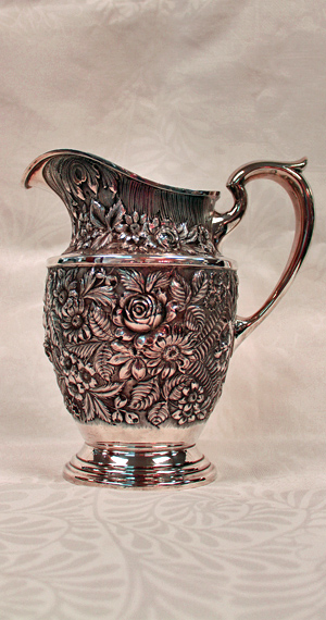 Baltimore Rose Sterling Pitcher