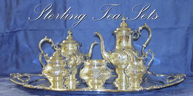 Sterling Tea Sets Christofle Mottahedeh Etagere